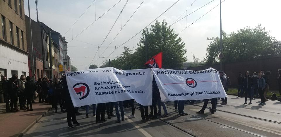 """Bericht von Aktionen gegen """"die Rechte"""" am 1. Mai in Duisburg"""