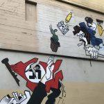 Restaurierung des Wandgemäldes