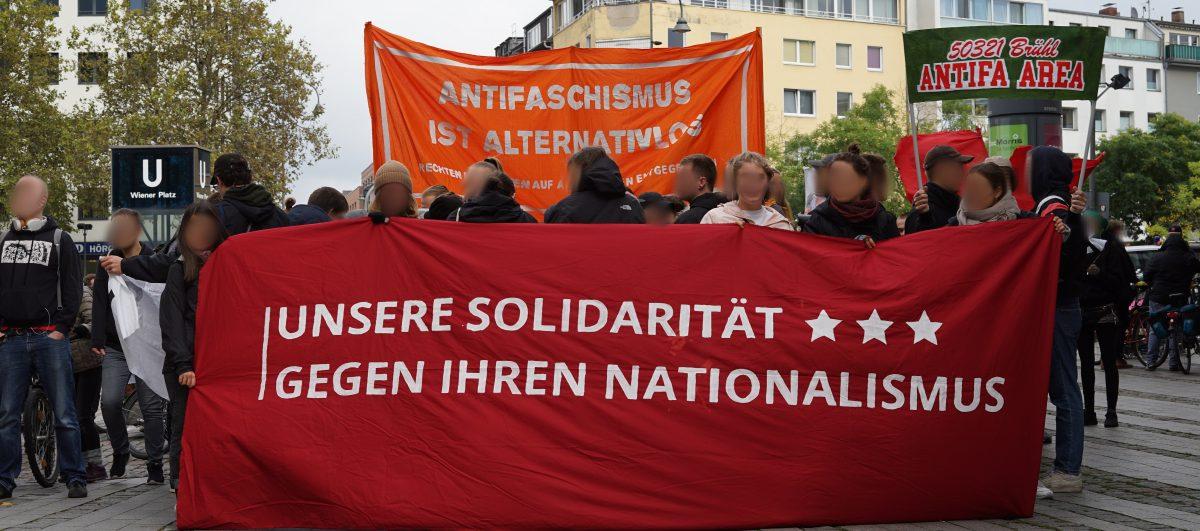 Bericht zum 03.10 in Köln – Dem Rechtsruck Entgegentreten