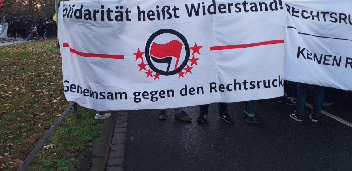 Kurzbericht zu den Protesten gegen den AFD-Bundesparteitag