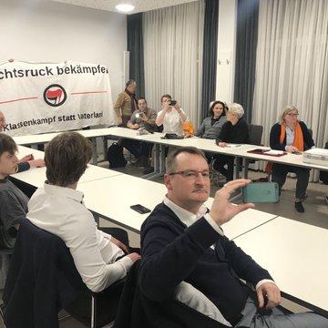 FDP-Sitzung gestört