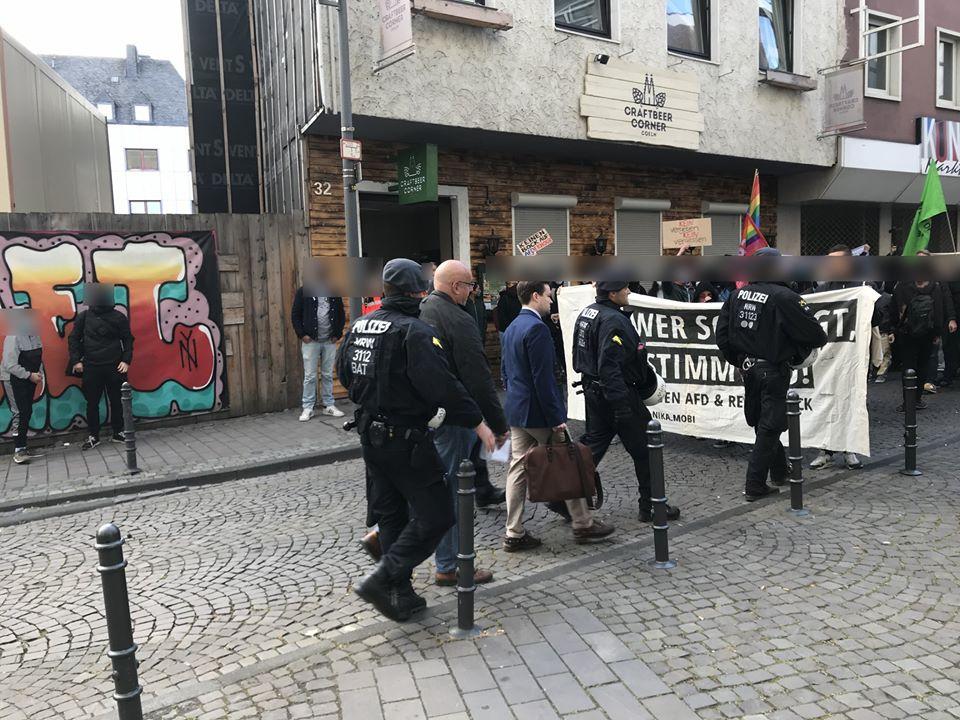 Proteste gegen AFD-Veranstaltung