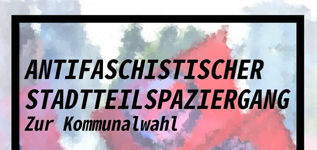 Antifaschistischer Stadteilspaziergang in Köln-Sülz