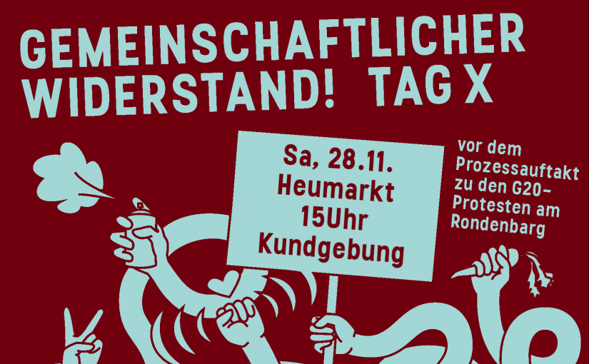 Gemeinschaftlicher Widerstand! 28.11 / 15:00 / Heumarkt